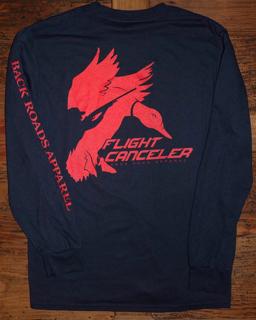 """Flight Canceler"" Long Sleeve Tee"