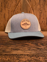 Breeding Heifers Since '69 Leather Patch Hat