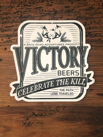 """Victory Beers"" Label Sticker"