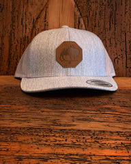 The Plains Leather Patch Hat
