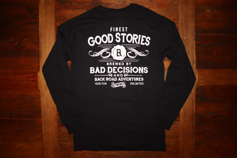 """Bad Decisions"" Long Sleeve Tee"