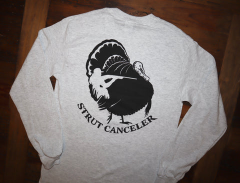 """Strut Canceler"" Long Sleeve Tee"