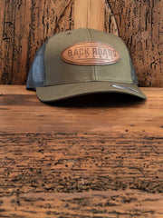 Retro Leather Patch Hat