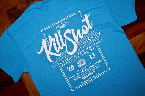 """Kill Shot Whiskey"" Short Sleeve Tee - Multiple Colors"