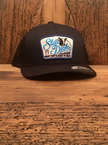 """Slap Dicks Cattle Co."" Patch Hat"