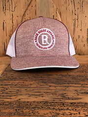 Logo Heather SnapBack Hat