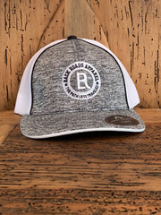Logo Heather FlexFit Hat