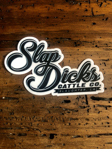 Slap Dicks Cattle Co. Signature Decal