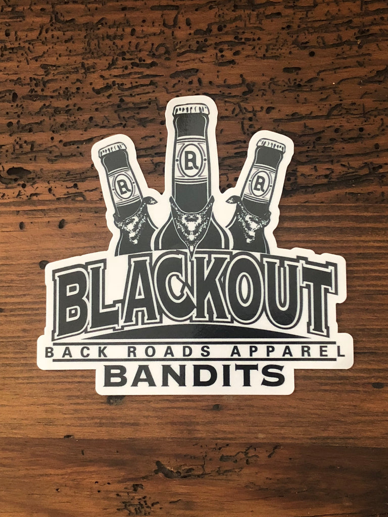 """Blackout Bandits"" decal"
