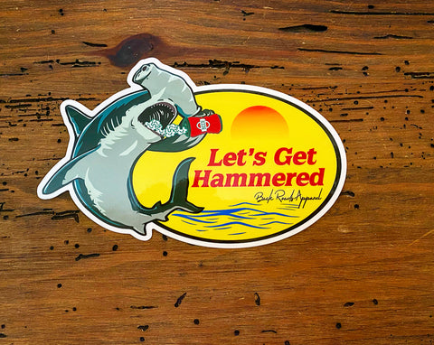 """Get Hammered"" Decal"