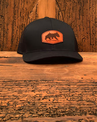 The Griz Leather Patch Hat