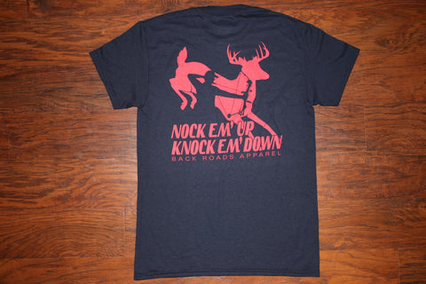 """Knock Em Down"" Short Sleeve Tee"