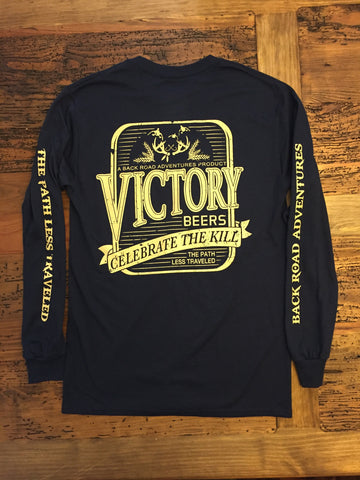 """Victory Beers"" Long Sleeve Tee - Multiple Colors"
