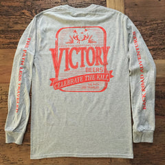 """Back Road Adventures Victory Beers"" Long Sleeve Tee - Multiple Colors"