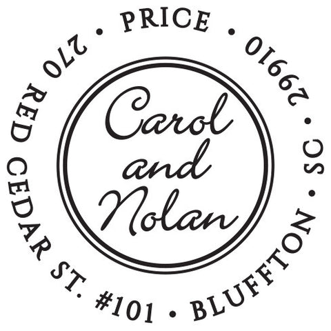 Carol Personalized Self-Inking Stamp