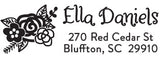 Ella Personalized Rectangular Stamp
