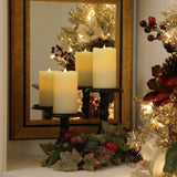 "3-D Solare Flameless Candles 9"" - 2"