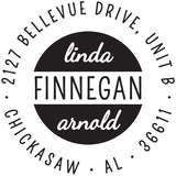 Finnegan Personalized Self-Inking Stamp