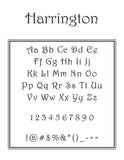 Harrington Personalized Self-Inking Stamp