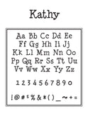 Kathy Personalized Embosser