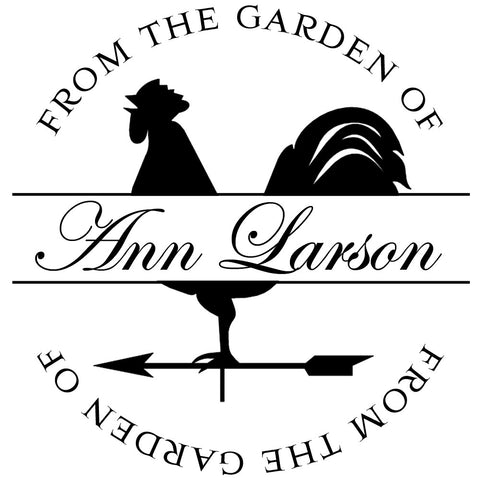 Garden Personalized Self-Inking Stamp