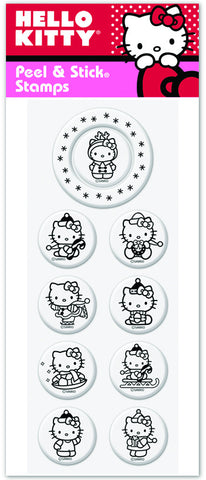 Hello Kitty® Reindeer Games Stamp Pack