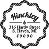 Hinckley Personalized Self-Inking Stamp