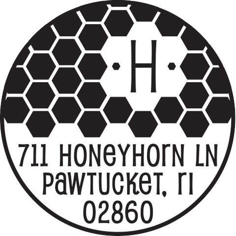 Honeywell Personalized Self-Inking Stamp