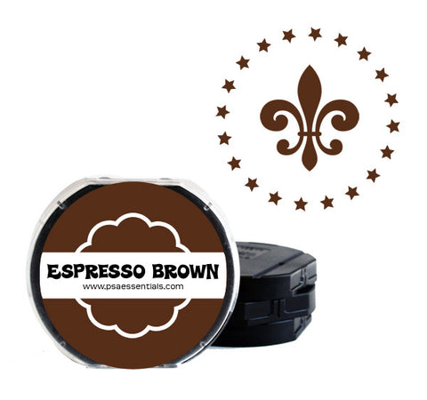 Espresso Brown Self-Inking Stamp Cartridge Refill