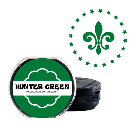 Hunter Green Self-Inking Stamp Cartridge Refill
