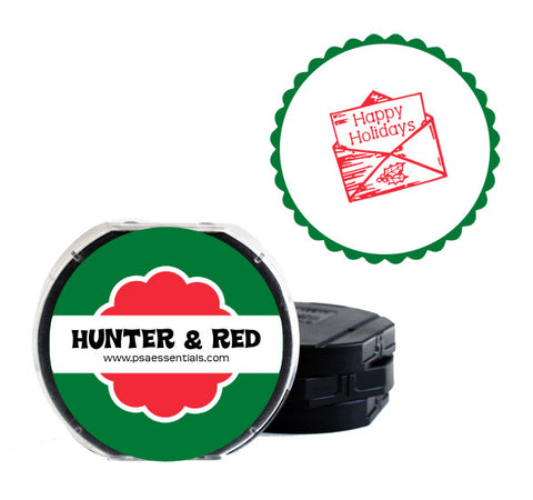 Hunter and Red Self-Inking Stamp Cartridge Refill
