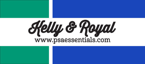 Kelly and Royal Rectangular Stamp Cartridge Refill