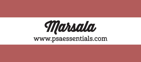 Marsala Rectangular Stamp Cartridge Refill