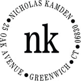 Nicholas Personalized Self-Inking Stamp