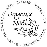 Noel Personalized Self-Inking Stamp