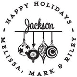 Ornaments Personalized Self-Inking Stamp