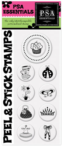 Cupcake Peel & Stick Stamp Pack