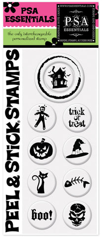 Haunted Shack Peel & Stick Stamp Pack