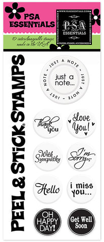 Just a Note Peel & Stick Stamp Pack