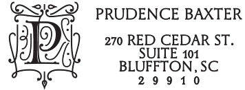 Prudence Personalized Rectangular Stamp
