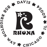 Rhona Personalized Self-Inking Stamp