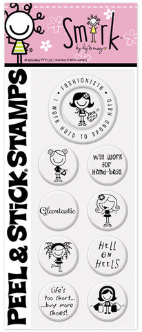 Smirk™ Fashionista  Stamp Pack