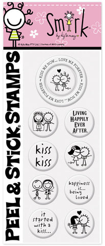 Smirk™ Kiss Me Now Stamp Pack
