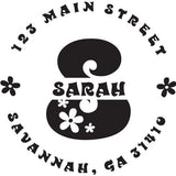 Sarah Personalized Self-Inking Stamp