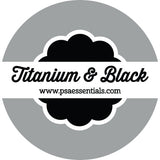 Titanium and Black Self-Inking Stamp Cartridge Refill