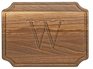 Selwood Walnut Monogram Cutting Board
