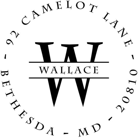 Wallace Personalized Self-Inking Stamp
