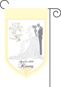 Wedding Garden Flag