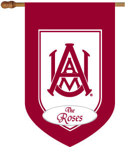 Personalized Alabama A & M House Flag