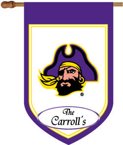 Personalized Eastern Carolina House Flag